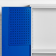 Verktygstavla perforerade för dörr SMV skåp 338x600mm RAL 5010