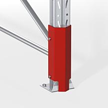 Stolpskydd  400mm hög  RAL 2002 röd
