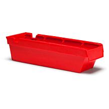 Lagerlåda Nr. 2111 400x115x100mm Röd