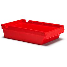Lagerlåda Nr. 2113 400x230x100mm Röd