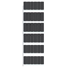 Boltless Däckställ Påbyggnadssektion 4500x1500x400mm 400kg/plan