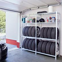 Boltless Garagehylla 2000x1000x400mm Påbyggnadssektion