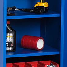 Hyllplan för enkelt verktygsskåp VE 495x420 Blå