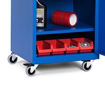 Hjulunderrede för enkelt verktygsskåp VE 490x440 Blå