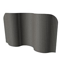 Focus Golvskärm grå 2400x1200